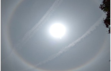 A Picture Essay: An uncanny, Prismatic Halo Encircling the Sun